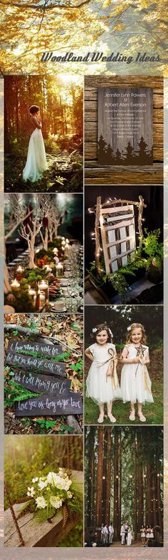 whimsical-woodland-wedding-ideas-and-invitations                                                                                                                                                                                 Plus