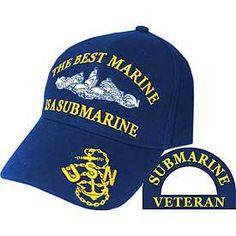 U.S. Navy The Best Marine Is A Submarine Baseball Cap - Meach's Military Memorabilia & More