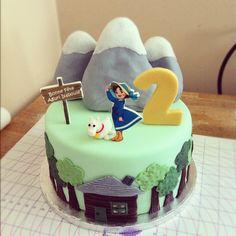 Heidi, Girl of the Alps Cake by sugar*baking, via Flickr