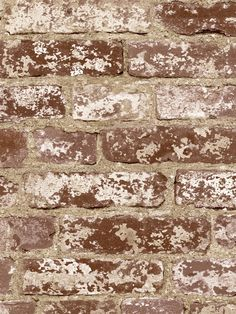Brick Wall Wallpaper | Risky Business | AmericanBlinds.com