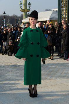 Ulyana Sergeenko Evening Coat - Ulyana Sergeenko Clothes - StyleBistro