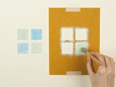 DIY Network has photos and instructions on how to create faux finishes such as sponging, graining, stenciling and distressing.