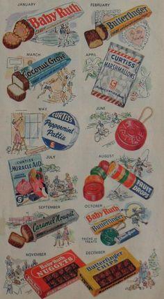 Curtiss Candy advertisement