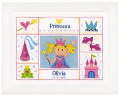 Princess - Cross Stitch Kit