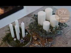 DIY: Advent wreath b
