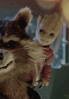 Baby Groot from the new 'Guardians of the Galaxy Vol. 2' teaser trailer.