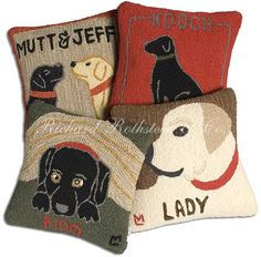 3c294a14b24e If we do a dog inspired play room... How To Make Pillows