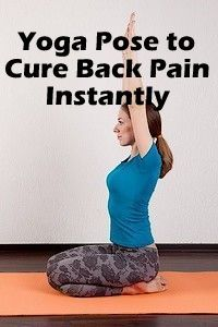 Back pain is to strengthen your core and release tension and tightness in the muscles around your upper and lower back. Back pain is the result of stress. Thus yoga is the only way to come of stress.