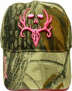 Bone Collector Pink Logo Ladies Hat - Realtree Camo $17.95 another addition for my favorite female hunting partner!