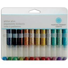 Martha Stewart Glitter Glue Set