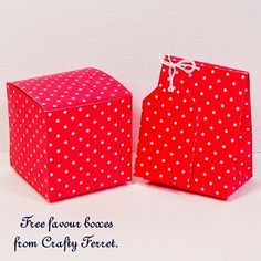 Crafty Ferret: Free printable country cottage style gift boxes, bags and tags