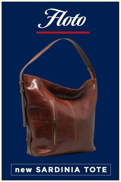 1e9e674a1b Floto Sardinia Italian Leather Shoulder Tote Bucket Crossbody Bag