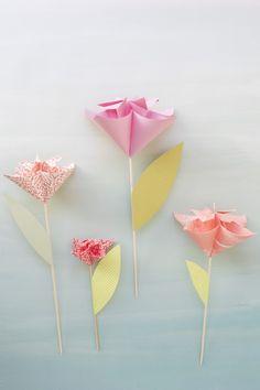 Origami Blume Anleitung - das beste DIY Geschenk für jeden Anlass