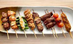 8 Japanese Dishes For Beginners | Caroline Phelps | Kushiyaki (yakitori)