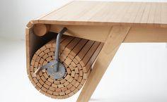 Smart Retractable Table – Fubiz Media