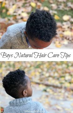 Boys natural hair tips. Here are a few Boys Natural Hair Care Tips to keep your son's hair healthy and in the best condition plus the products that work for my son's hair. Baby Boy Hairstyles, African Hairstyles, Black Hairstyles, Crazy Hairstyles, Natural Hair Care Tips, Natural Hair Styles, Curly Hair Styles, Cheveux Ternes, Afro Hair Care