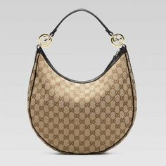 017633f766e0 Gucci GG Twins Medium Hobo Beige-Black 232962 Sale Gucci Hobo Bag, Gucci  Bags