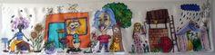 Šatka -obrázok do detskej izby na zarámovanie