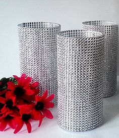 Bling Wedding Centerpieces Decor Set of 3  by ArtisanSignature, $22.00