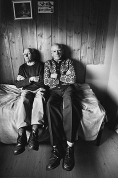 An extract from The Brothers by photographer Elin Høyland