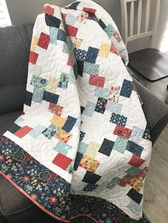 Layer Cake Lattice - a Layer Cake Quilt Pattern