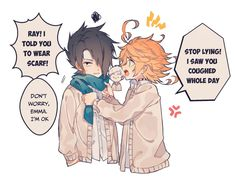 The Promised Neverland - Yakusoku no Neverland Doujinshi - Phần 8 - Wattpad Moe Anime, Manga Anime, Norman, Shingeki No Bahamut, Creative Names, Cool Animations, Doujinshi, Neverland, Haikyuu