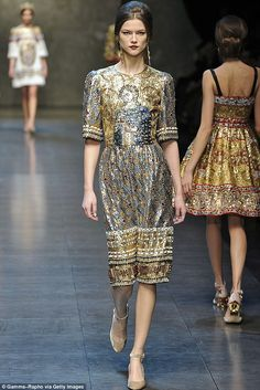 Dolce & Gabbana worn by Katy Perry