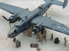 """""""They just flew them, we just fixed them"""" (1/72) by Rene Hieronymus"""