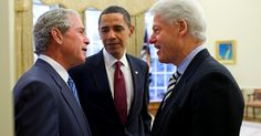 """(Oh! SNAP!) """"I've heard more from Bush, asking for my advice, than I've heard from Obama. I have no relationship with the president — none whatsoever. Obama doesn't know how to be president. He doesn't know how the world works. He's incompetent. He's an amateur."""", former President Bill Clinton"""
