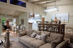 Burleigh Heads Hampton Style Kitchen - traditional - living room - brisbane - by Interiors By Darren James