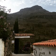 Little village Fataga Gran Canaria