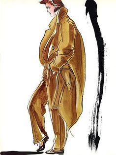antonio lopez, 1980s Antonio Lopez #Illustration, fashion illustration, fashion, art, illustration, drawing, painting