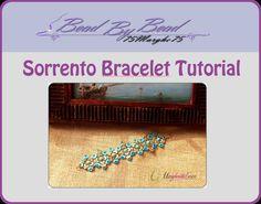 Sorrento bracelet pattern. Pdf step by step Tutorial by 75marghe75