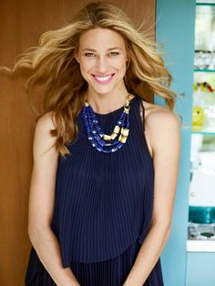 Fall Outfit Ideas 2012 - Redbook  Coordinating Jewelry:  Necklace, Stella & Dot, (98). Dress, Vince Camuto, (160).