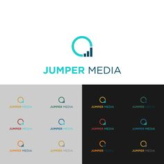 JUMP IN and create an awesome logo for Jumper Media! by eR-Je