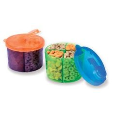 No one thinks to look in the baby section at the store for backpacking supplies! Munchkin Snack Dispenser