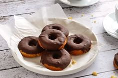 Coconut Flour Cake Donuts #food #paleo #glutenfree