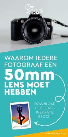 Fotografietips Canon (en Nikon): Waarom elke fotograaf een 50mm lens moet hebben? Bijvoorbeeld vanwege de mooie scherptediepte door het grote diafragma, de gunstige prijs/kwaliteit verhouding. Meer lees je in het artikel. Download ook het gratis inspiratie eBook met