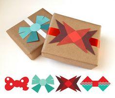 .: Lazos imprimibles para regalitos