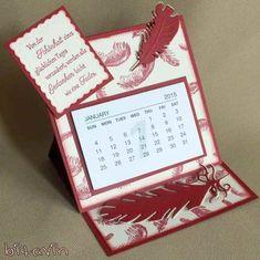 bitavin's Bastel-Blog: Easel Mini-Kalender