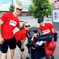 Fun family workout this morning at the @american_heart_association Denver Walk. It was HOT!