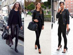 3 X all black