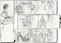 Style Satchel: Moleskine sketches