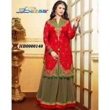 Beautiful Embellished Lehenga Suit Set(20% Discount)