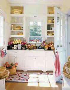 Abbinare colori pareti a cucina rustica arte povera \