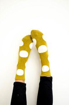Polka Dot Socks   ROOLEE