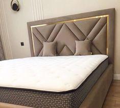 Bed Headboard Design, Sofa Bed Design, Room Design Bedroom, Bedroom Furniture Design, Headboards For Beds, Bed Furniture, Bedroom Decor, Bedroom Ideas, Sofa Come Bed