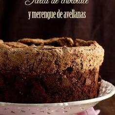 Tarta de chocolate y merengue de avellanas Brownies, Cheesecakes, Bakery, Cupcakes, Sweets, Chocolates, Desserts, Food, Recipes
