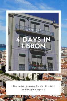 4 days itinerary in Lisbon, Portugal Day 1 – Arriving in Lisbon and Príncipe Real Day 2 – Alfama, Campo de Ourique, Jardim Estrela, Cais do Sodres and Ponto Final Day 3 – Baixa and Castelo de San Jorge Day 4 – Belem and Lx Factory Bar Scene, Belem, Lisbon Portugal, Adventure Travel, Claire, Travelling, Spain, Europe, World