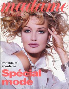 ☆ Karen Mulder | Photography by Tyen | For Madame Figaro Magazine France | September 1992 ☆ #karenmulder #tyen #madamefigaro #1992
